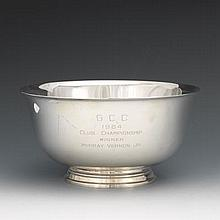 Tiffany & Co. Sterling Silver Paul Revere Reproduction Bowl, ca. Mid 20th Century