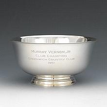 Tiffany & Co. Sterling Silver Paul Revere Reproduction Bowl, ca. 1956-1965