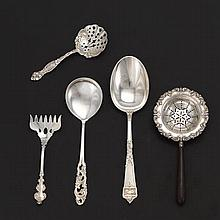 Assorted Sterling Silver Flatware