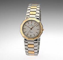 Baume & Mercier Gentleman's Stainless Steel and Gold Watch