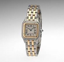 Ladies' Cartier Panther Two Tone Watch