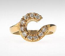 Ladies' Gold and Diamond Ring