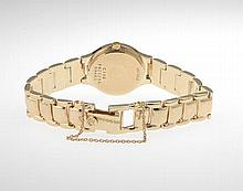 Ladies' Movado Gold, Diamond and Mother-of-Pearl Watch