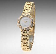 Ladies' Gold and Diamond Geneve Watch