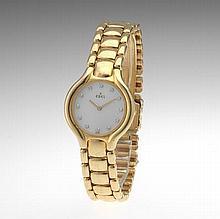 Ladies' 18k Gold and Diamond Ebel Beluga Watch