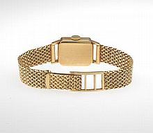 Ladies' Gold Movado Sport Tank Watch