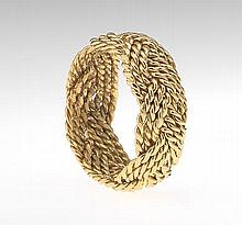 Ladies' Gold Wove Ring