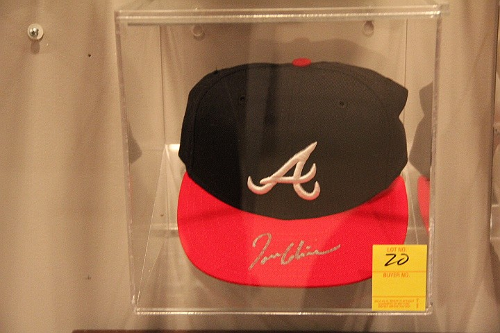 Tom Glavine Autographed Braves Ball Cap