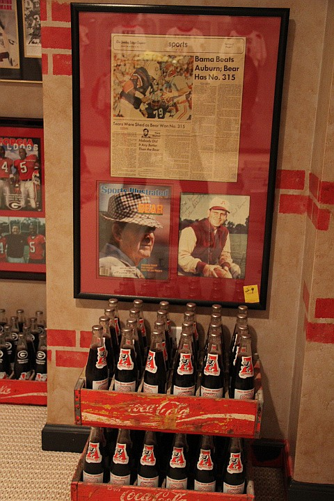 Sports Ilustrated Front Cover Photo of Bear Bryant & 2 Cases Coke