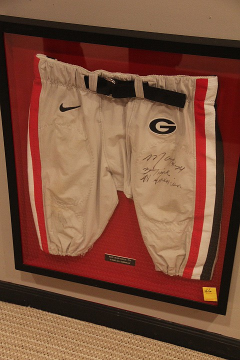 Max Jean-Gilles Football Pant- Game Worn