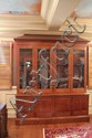 Antique/Vintage Large Oak Hunting Gun Cabinet