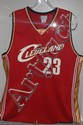 Lebron James Autographed Away Jersey w/COA