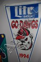 Large Banner - Go Dawgs