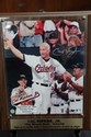 Photo on Wood Placque.  Cal Ripken Jr.-Orioles.w/ COA