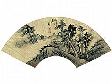 Gong Xian (1618-1689) Landscape