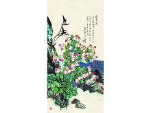 Kuo TSORNG (1940 -) Wuyishan Flowers