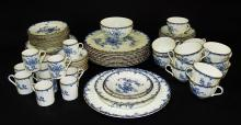 75 PIECE ROYAL WORCESTER DINING SERVICE