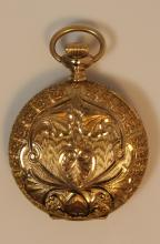 ANTIQUE 14KT YELLOW GOLD WALTHAM POCKET WATCH