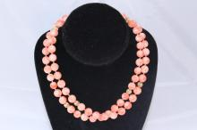 CHINESE CORAL AND 14KT GOLD SUITE