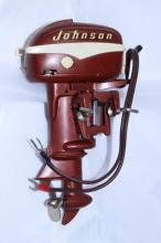 NEW OLD STOCK JOHNSON TOY SEA HORSE OUTBOARD