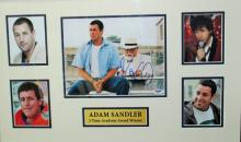 ADAM SANDLER SIGNED PICTURE FROM LONGEST YARD