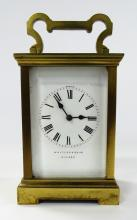 ANTIQUE WHYTOCK & SONS DUNDEE CARRAIGE CLOCK