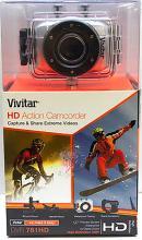BRAND NEW VIVITAR DVR 781 HD ACTION CAMCORDER