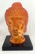 ASIAN DECORATIVE ORANGE HEAD