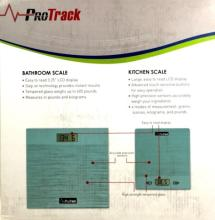 NEW PROTRACK DIGITAL BATHROOM/KITCHEN SCALE