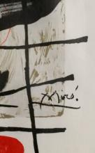 JOAN MIRO ABSTRACT LITHOGRAPH V$3,200
