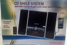 BRAND NEW CRAIG CD SHELF SYSTEM