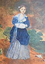 1885 JAMES HAYLLAR PAINTING BRITISH 1829-1920