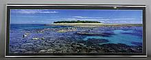 "Peter Lik (born 1959) – Limited edition photographic print – ""Lady Musgrave Island"", 13.75ins x 41in"