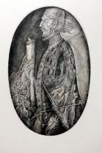 Leonid Stroganov ? Etching ? ?The Merchant of Venice?, 47cm x 30cm, signed,