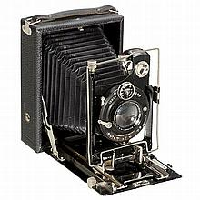 Steinheil Folding Plate Camera 9 x 12 cm, c. 1927