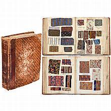 Parisian Fabric Pattern Book, 1879–1880