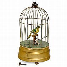 Singing Bird Cage Automaton by Georg Köhler, 1957