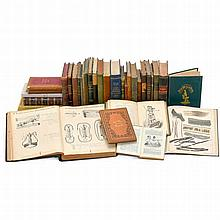 Large Collection of Microscope Specialist Books, 1857 onwards