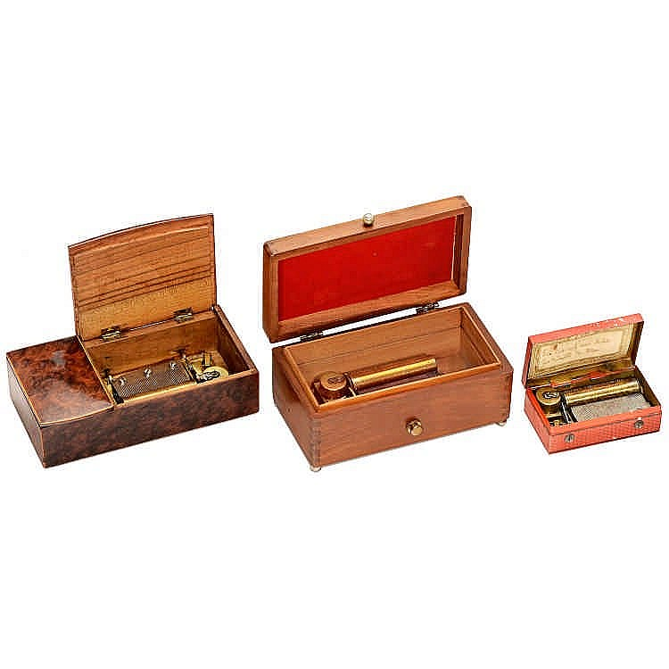 18-note hand crank musical box musical mechanism S. Rachmaninov Rhapsody on a theme of Paganini
