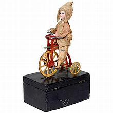 German Automaton Cyclist, c. 1900