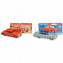 2 Mercedes Vintage Toy Cars, c. 1960