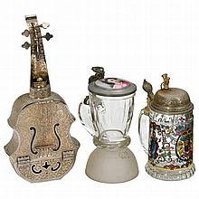 2 Musical Drinking Items, 20th Century