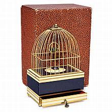 Singing and Swinging Bird Box Automaton by Eschle, c. 1950s