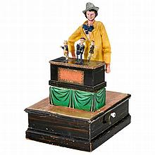Musical Manivelle Organ-Grinder Automaton, c. 1880