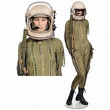 MIG-21 Pilot Pressure Suit with Helmet, c. 1960
