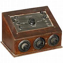 Marconi-Zellweger Receiver M3, 1925