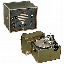 Telefunken Amplifier with 2 Disc-Cutting Machines, c. 1935