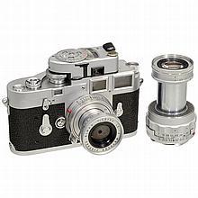 Leica M3 and 2 x Elmar, 1955