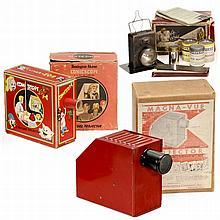 3 Toy Projectors, c. 1930