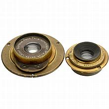 2 Wide-Angle Lenses by Berthiot, c. 1890